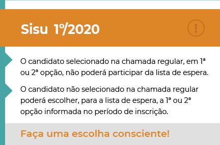 Acessar o Portal MEC SISU ENEM 2019 / 2020